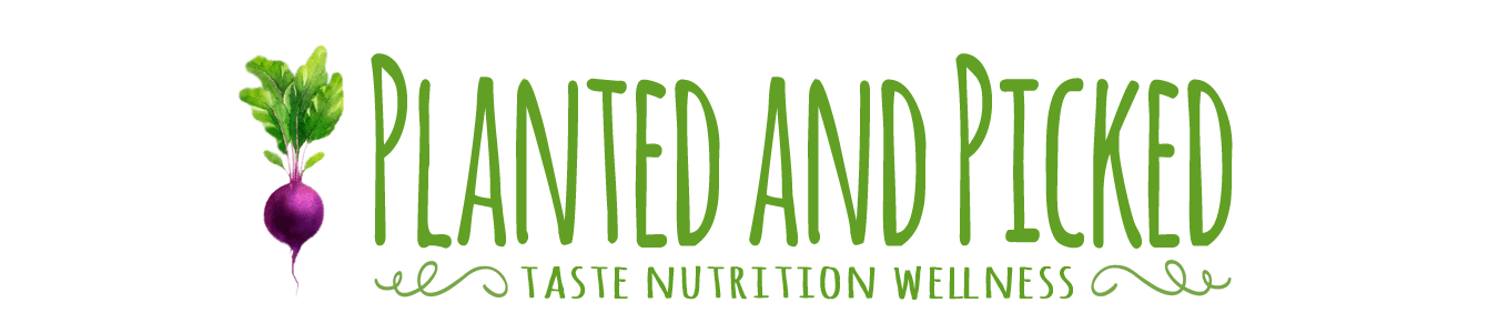 planted and picked logo