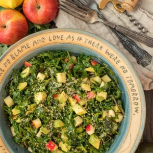 kale salad in bowl
