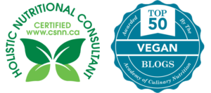 CSNN logo and Top Vegan Blog logo